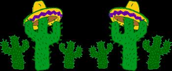 Cactus Border Clipart - Clipart Suggest