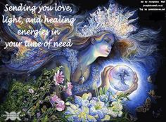 Healing Thoughts   You In My Thoughts And Send You Warm Healing Energy
