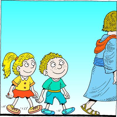Follow Jesus Clipart - Clipart Kid