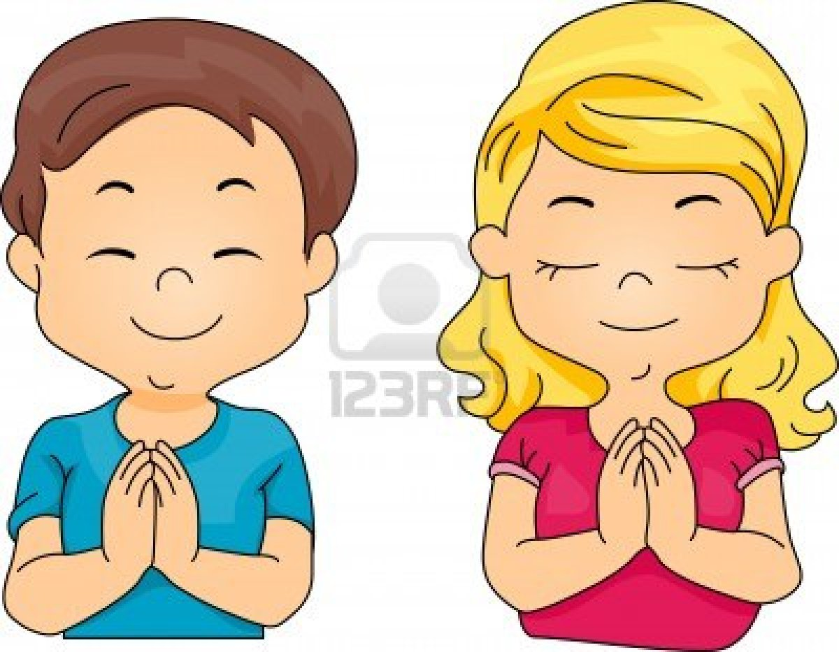 Two Boys Praying Clipart - Clipart Suggest