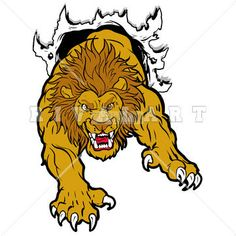 Lion Clip Art On Pinterest   Lion Basketball And Basketball Players