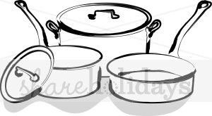 Pots And Pans Clipart   Party Clipart   Backgrounds