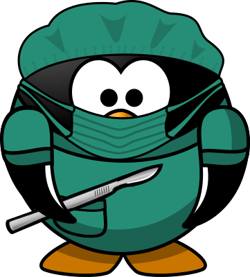 Surgeon Penguin   Http   Www Wpclipart Com Medical Surgery Surgeon