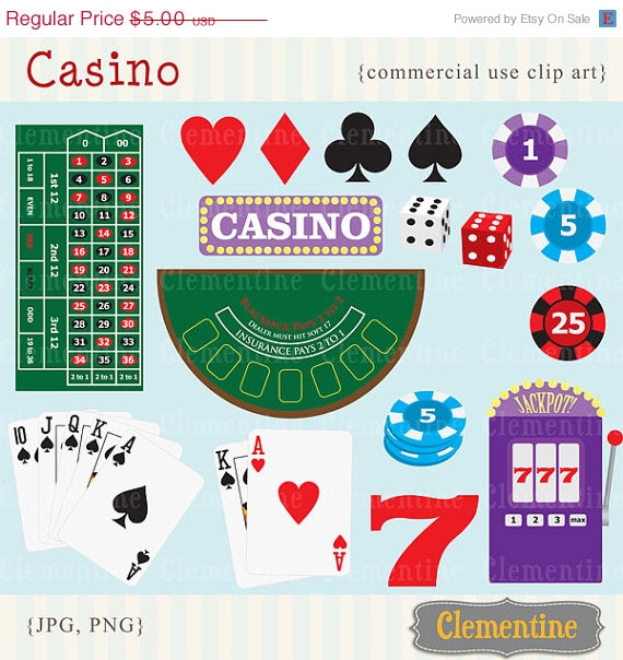 35  Off Sale Poker Clip Art Images Casino Clip Art Royalty Free