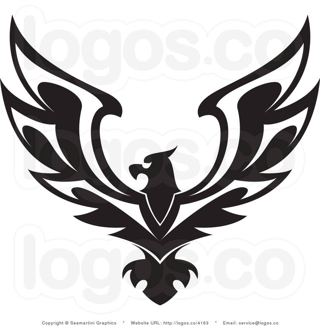 American Eagle Clipart Black And White   Clipart Panda   Free Clipart