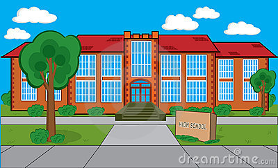 Clipart School Building Free  1