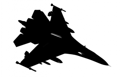Fighter Jet Silhouette   Clipart Best