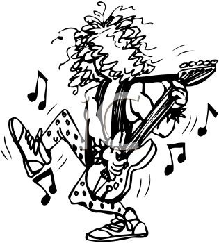 Rock And Roll Stage Clipart - Clipart Kid