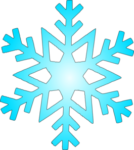 Glacier Clipart Blue Snow Flake Md Png