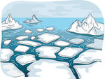 Glacier Illustrations And Clipart  948 Glacier Royalty Free