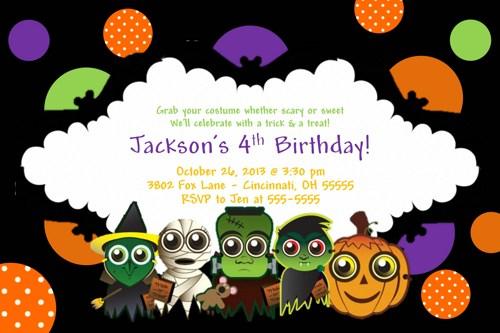 free halloween clip art invitations - photo #47