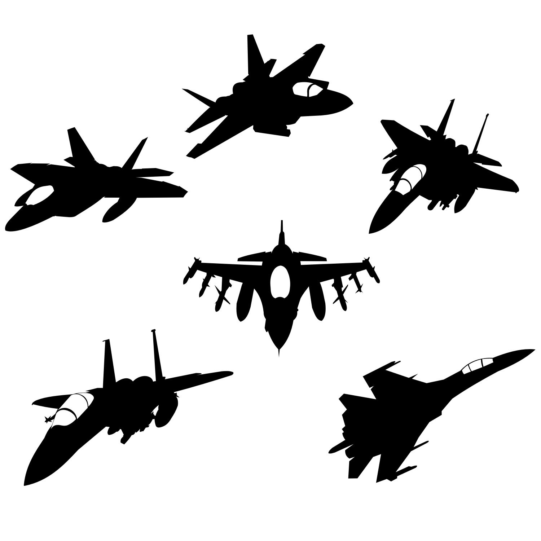 military aircraft silhouette clip art  u2013 cliparts