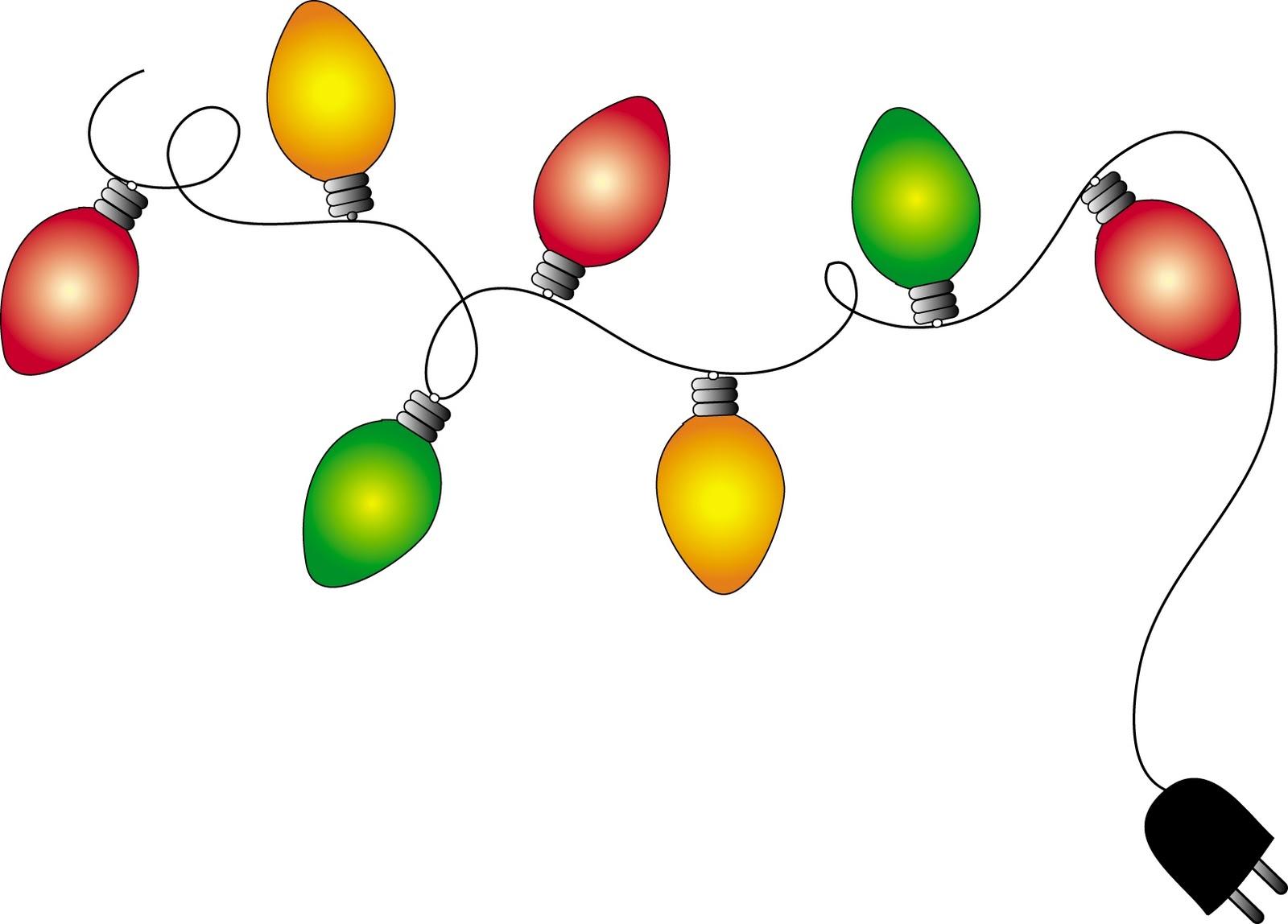 Holiday Lights Clip Art