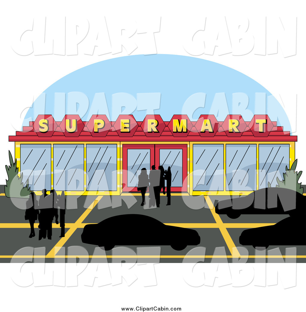 Parking Lot Clip Art Vector Clip Art Of A Super