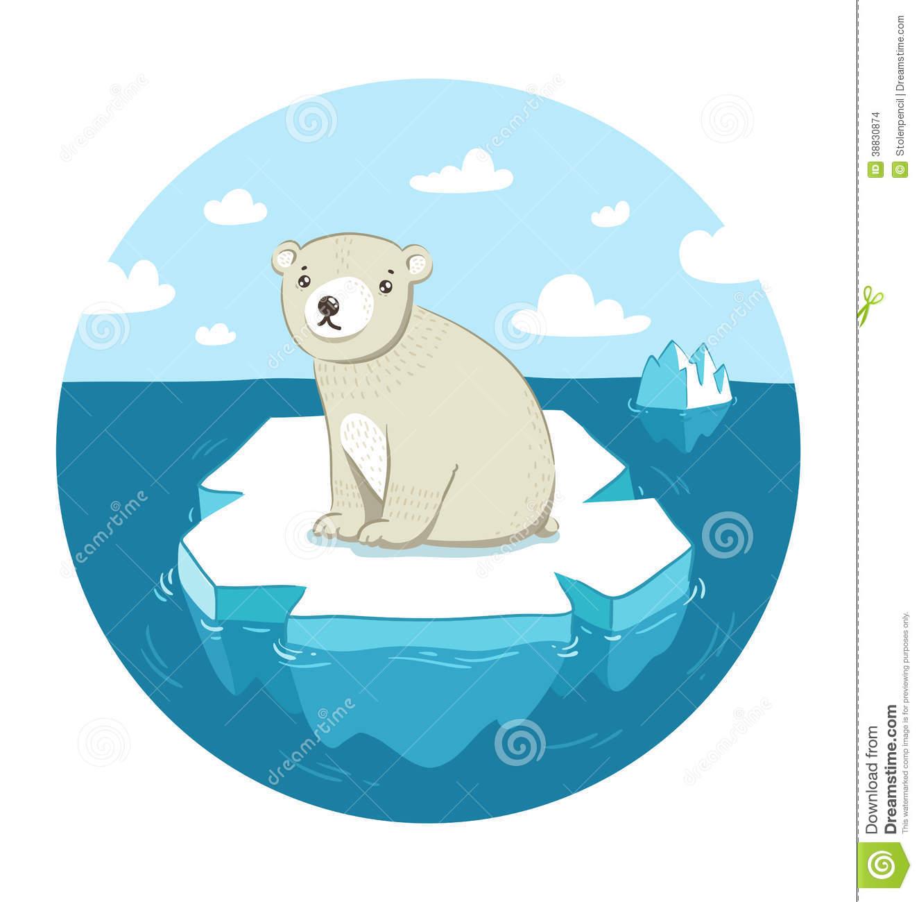 Sad Polar Bear Clipart - Clipart Suggest