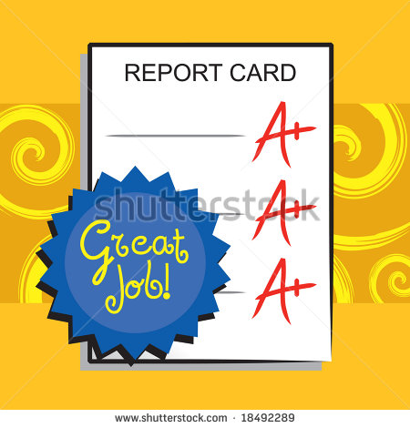 Report Card A Stock Photos Images   Pictures   Shutterstock