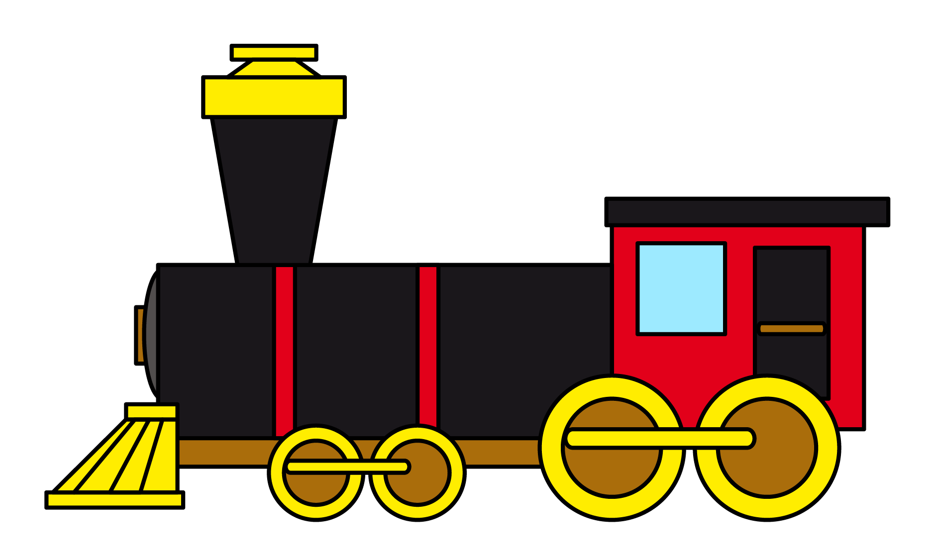 Steam Train Engine Clip Art   Clipart Panda   Free Clipart Images