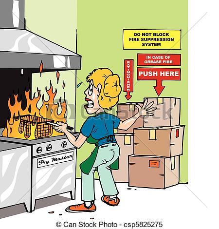 Kitchen Safety Clipart - Clipart Kid