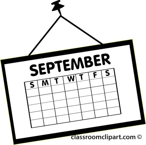 free clipart for teachers calendar - photo #3