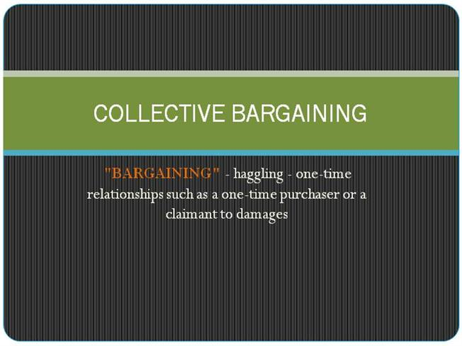 Collective Bargaining Diagram Images