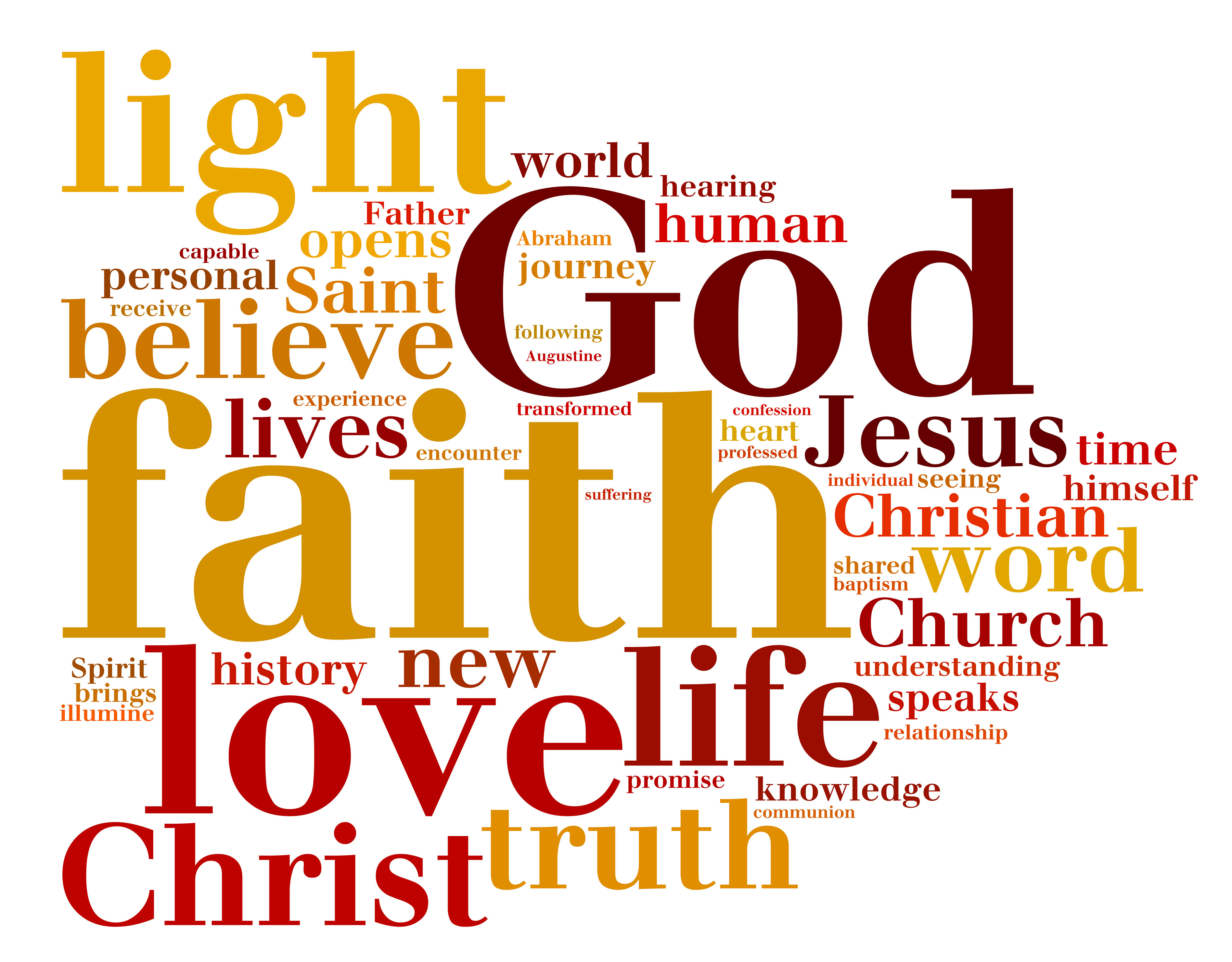 Encyclical Word Cloud Created By Cns  July 5 2013