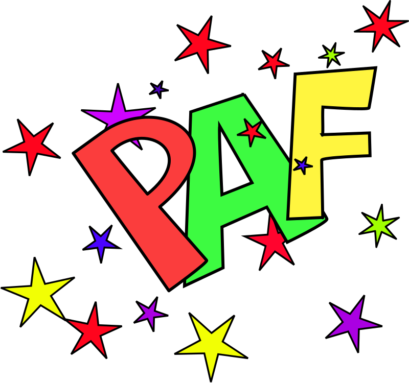 Paf By Dominiquechappard   Paf Sound Representation With Stars