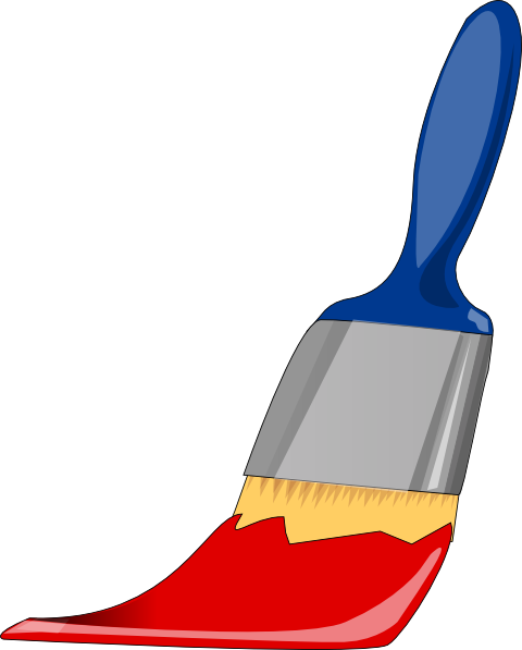 Paint Bucket And Brush Clipart - Clipart Kid
