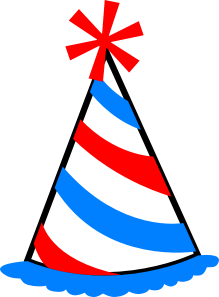 Party Hat Clip Art At Clker Com   Vector Clip Art Online Royalty Free