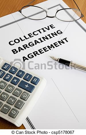 Picture Of Collective Bargaining Agreement   Image Of A Collective