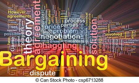 Stock Illustration   Bargaining Background Concept Glowing   Stock