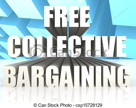 Stock Illustration   Free Collective Bargaining   Stock Illustration