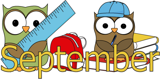 Image result for september clipart for school