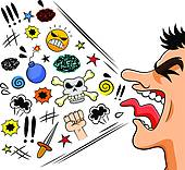 And Stock Art 9 Verbal Abuse Illustration Vector Eps Clipart
