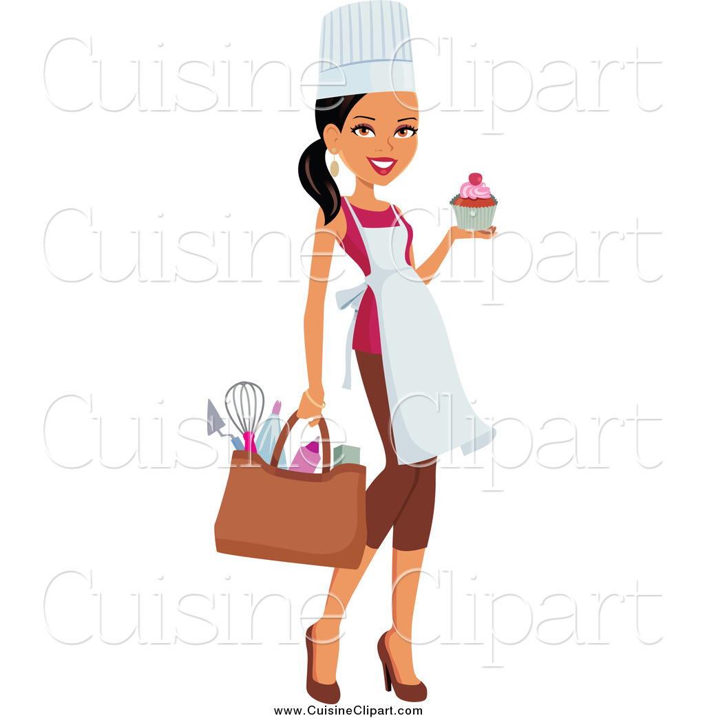 Woman Baker Clipart - Clipart Kid
