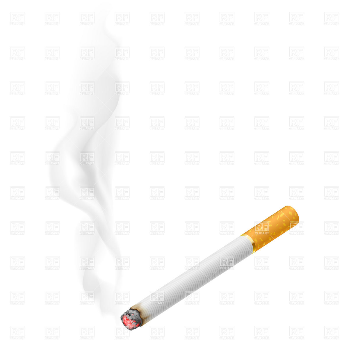 Cigarette Smoke Clipart - Clipart Suggest