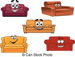 Colorful Cartoon Sofas And Couches   Colorful Cartoon Sofas