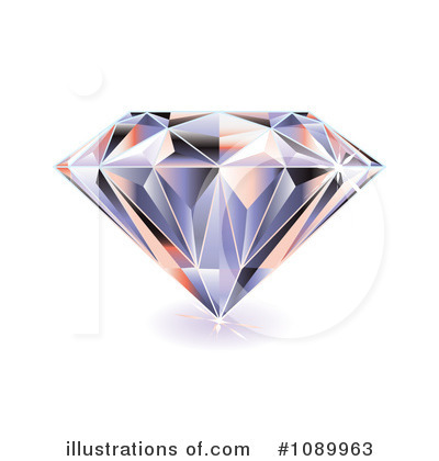 Diamond Clipart  1089963   Illustration By Michaeltravers