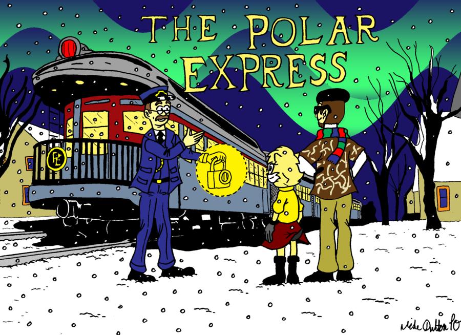 Polar Express Clipart Clipart Suggest