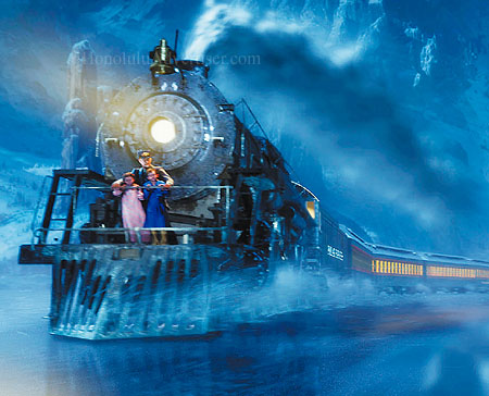 The Computer Animated Motion Picture The Polar Express Takes A Fresh