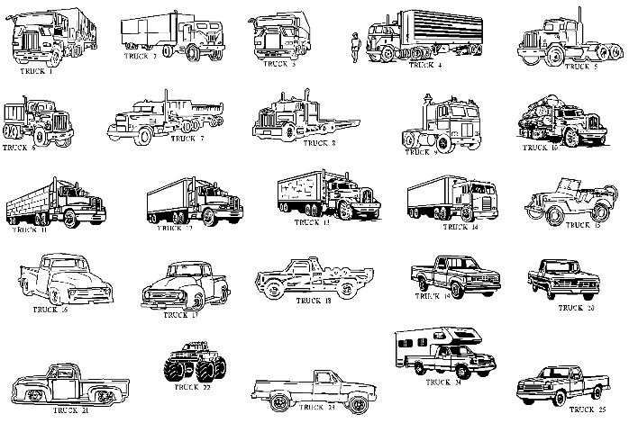 Log Truck Black And White Clipart - Clipart Kid