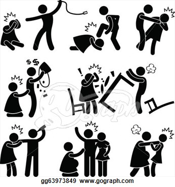 Verbal Abuse Clipart