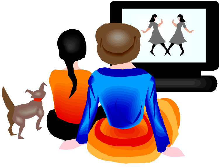 Watching Tv Clip Art Free Cliparts That You Can Download To You