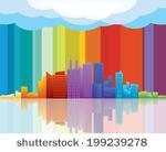 Abstractarchitecturalarchitecturebackgroundbluebuildingcbdcity