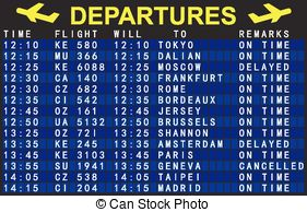 Arrival Departure Board Clip Art And Stock Illustrations  676 Arrival