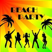 Beach Party   Clipart Graphic