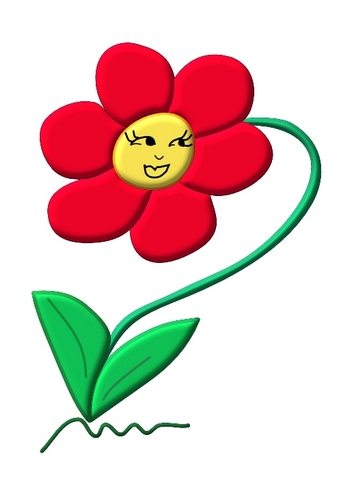 August Flower Clipart - Clipart Kid