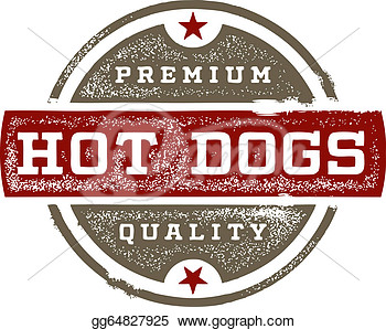 Illustrations   Premium Quality Hot Dogs  Stock Clipart Gg64827925