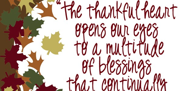 Gratitude Quotes and Sayings Clip Art