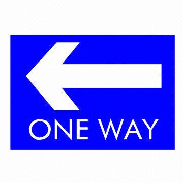 One Way Street Sign   Clipart Best