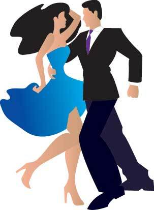 Two People Dancing Clipart - Clipart Kid